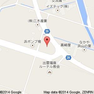 ファミリーマート浜山公園入口店の地図