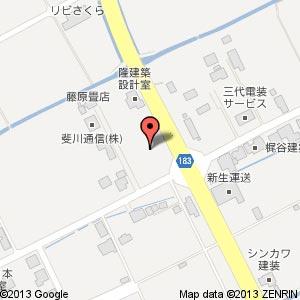 ファミリーマート 斐川新川店(仮称)の地図