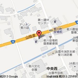 ファミリーマート 斐川支所前店の地図