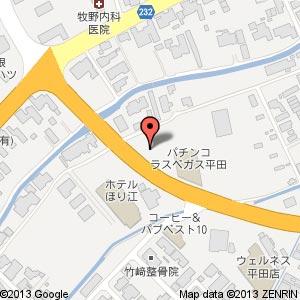 ファミリーマート 平田西店の地図