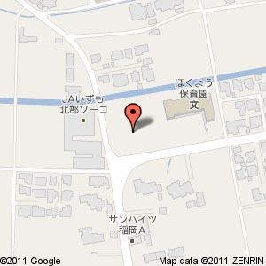 ファミリーマート JAいずも稲岡店の地図