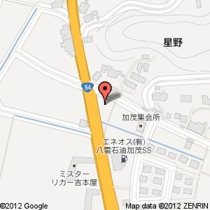 ファミリーマート 雲南加茂店?の地図