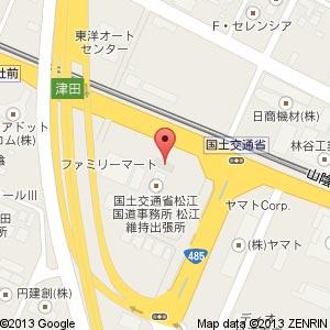 ファミリーマート 東津田宮沖店の地図