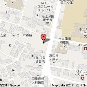 ファミリーマート 西津田店?の地図