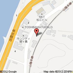 ファミリーマート 袖師店の地図