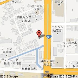 ファミリーマート 松江菅田店の地図