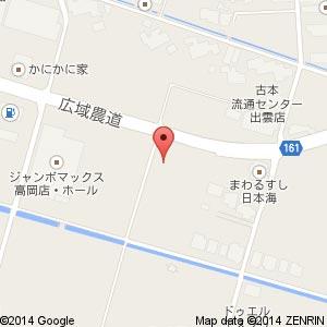 ファミリーマート 出雲高岡店の地図