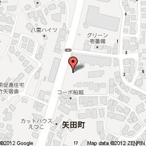 ファミリーマート 松江矢田店?の地図