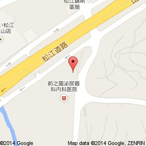 フロンティア薬局 乃白店の地図