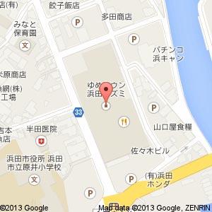 不二家 ゆめタウン浜田店の地図