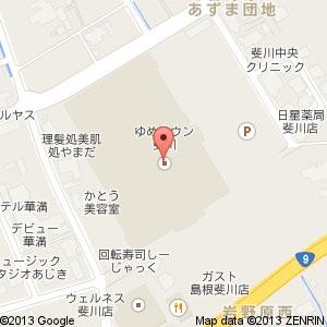 不二家 ゆめタウン斐川店の地図