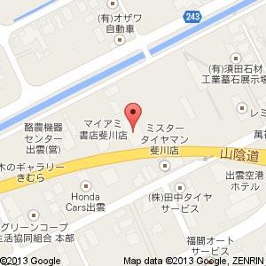 台湾料理 福来順 斐川店の地図