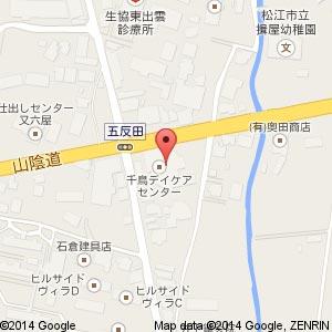 ふれあいハウス五反田の地図