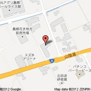 ゲオ出雲斐川店の地図