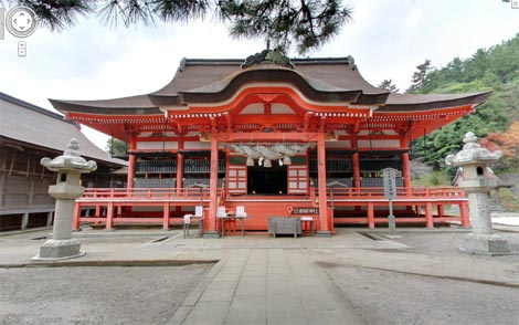 Googleマップストリートビュー 日御碕神社
