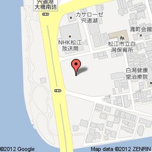 ご縁市@しらかた広場の地図