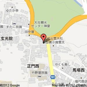 ご縁横丁の地図