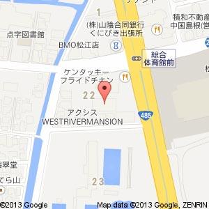 ゴルフ・ドゥ 松江店の地図