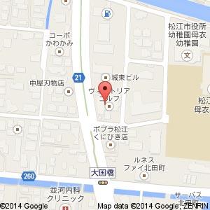 ゴルフパートナー 松江くにびき通り店(仮称)の地図