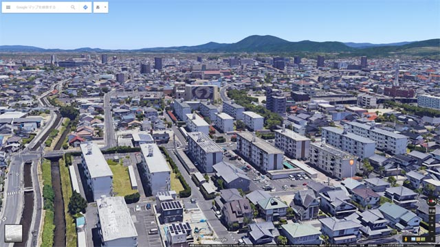 Googleマップ Earthビュー 出雲市