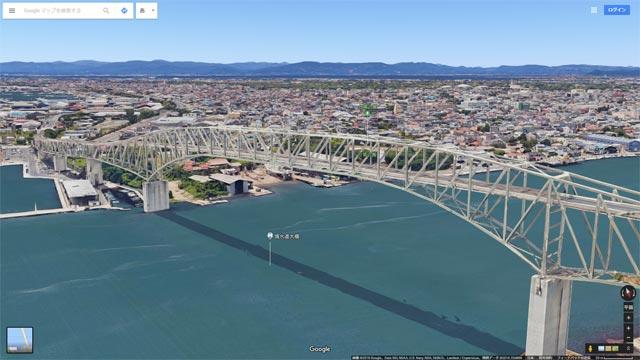 Googleマップ Earthビュー 境港市