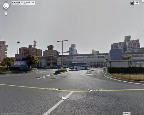 Googleストリートビュー 松江駅