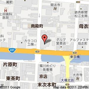ごうぎんギャラリー(ごうぎん旧北支店跡地)の地図