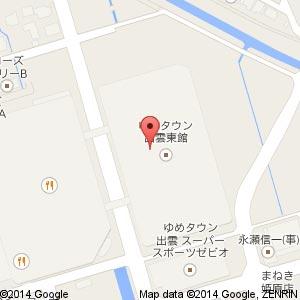 GU ジーユー ゆめタウン出雲店の地図