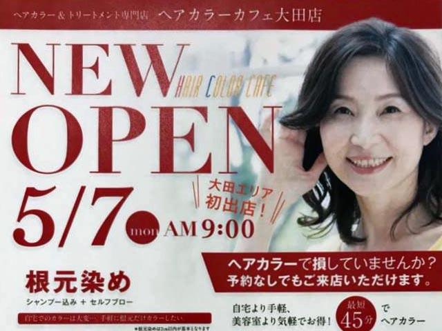 ヘアカラーカフェ 大田店