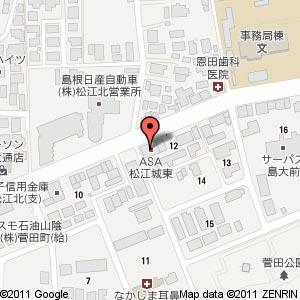 博多一番どり居食家あらい 島根大学前店の地図