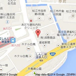 博多屋 源吉 松江店の地図