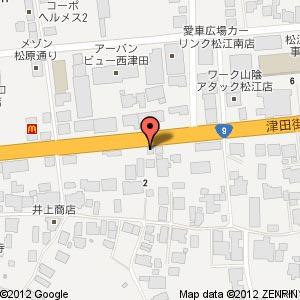 広島風お好み焼き鉄板焼きはここの地図