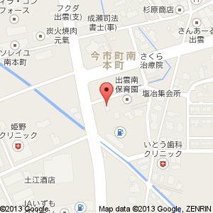 居酒屋 HALUの地図