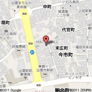 浜焼太郎 出雲店の地図