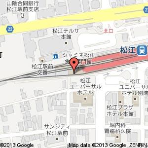 はなの舞 松江南口店の地図