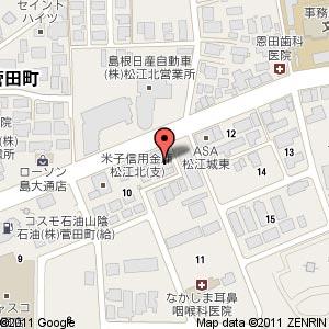 麺工房 天真爛漫の地図