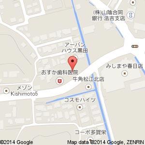 はなワールド 黒田店(仮称)の地図