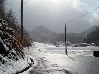 2009年12月18日 吉田町曽木