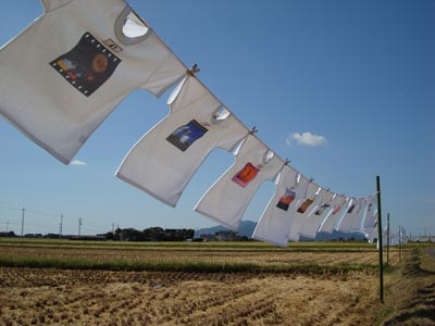 Tシャツアート展2009