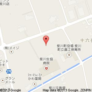 斐川生協サービス付き高齢者住宅(仮称)の地図