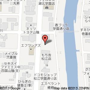 ホンダカーズ島根東 学園店(仮称)の地図