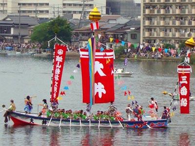 平成21年ホーランエンヤ 渡御祭 三番船・大井櫂伝馬