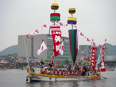 平成21年ホーランエンヤ 渡御祭 二番船・矢田櫂伝馬