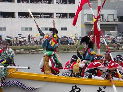 平成21年ホーランエンヤ 渡御祭 二番船・矢田櫂伝馬 剣櫂