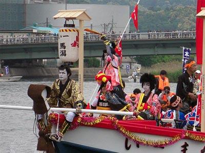 平成21年ホーランエンヤ 渡御祭 一番船・馬潟櫂伝馬 剣櫂