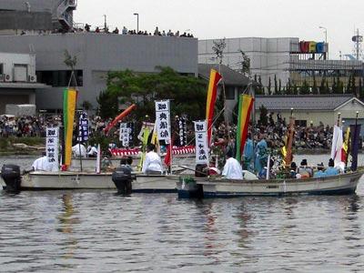 平成21年ホーランエンヤ 渡御祭 神社船