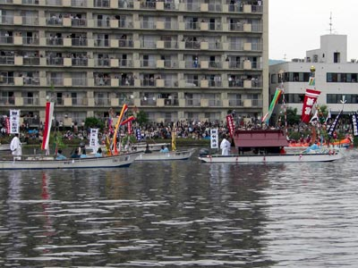 平成21年ホーランエンヤ 渡御祭 神輿船