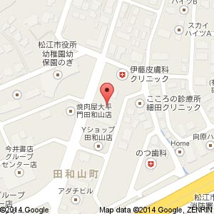 こころの診療所 細田クリニック(移転後)の地図