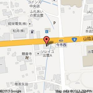 ハウスドゥ! 出雲店の地図