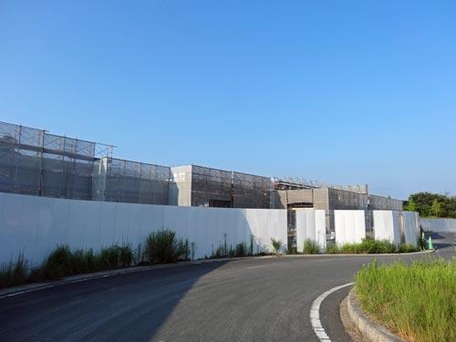 松江データセンターパーク拡張工事